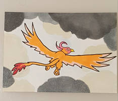 Ink Artist Card: Gryphon