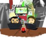 Gronkh und Sarazar im Livestream