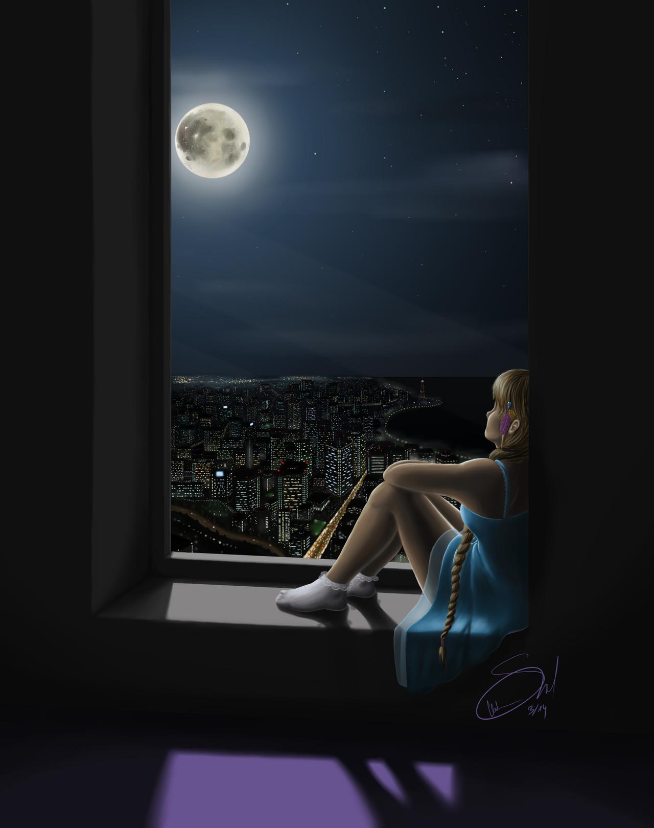 Moonstruck by Vaccoon
