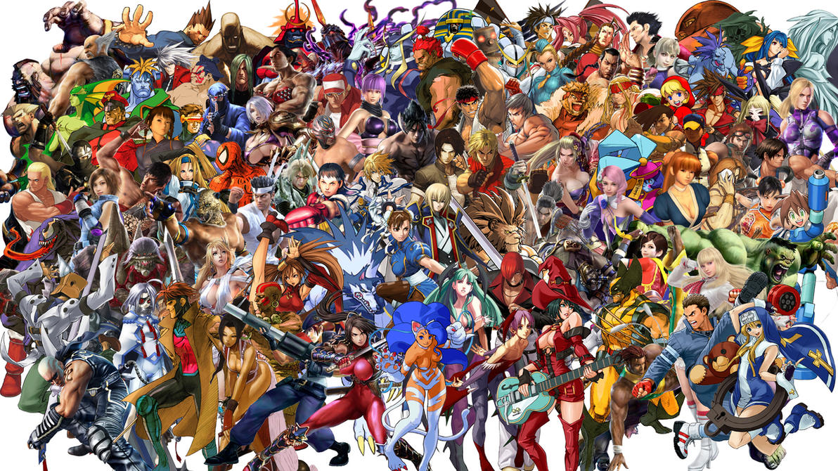 Fighting games unite by jinxonhog on deviantart fighting games unite by jinxonhog voltagebd Choice Image