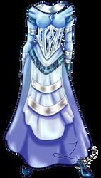 Skydow16 Commission 1/2: Jade Wedding Dress Design