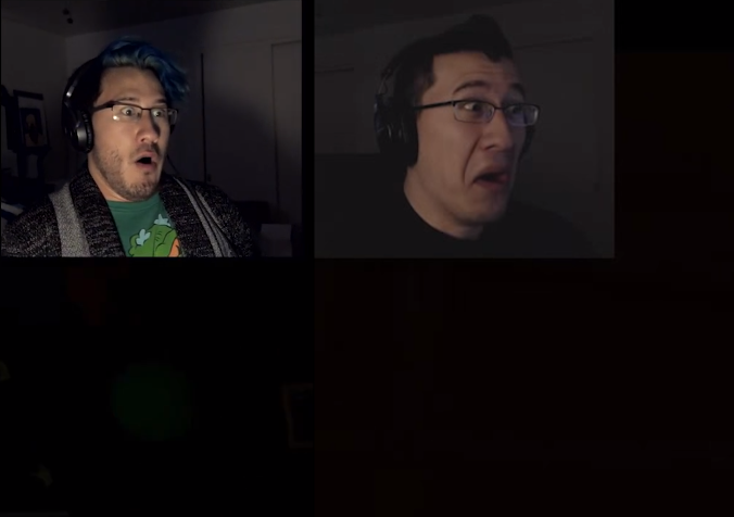 Markiplier 2013 and 2015 by ertyez