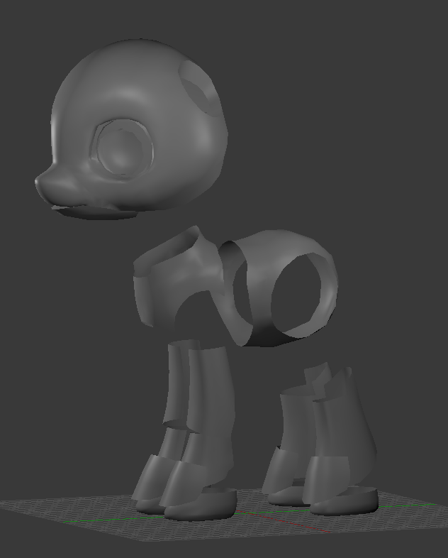Pony Robot Base In The Works By Stann Co On Deviantart