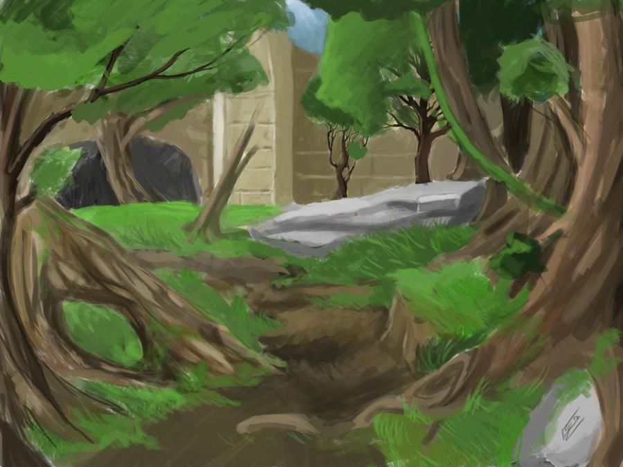Landscape Pratice by CotyP