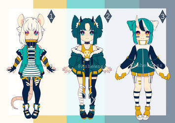 [ADOPT] Colorful dystopia [CLOSED][0/3]
