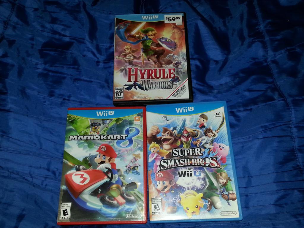 MY Wii U GAMES 2015 by HAVOC777