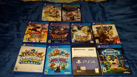 MY PS4 GAMES 2016 by HAVOC777