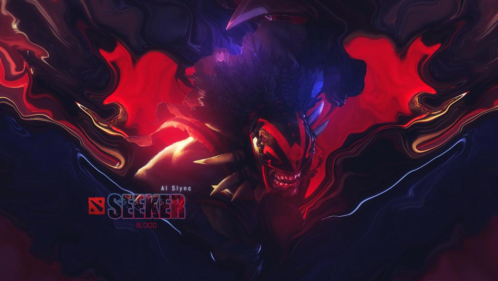 Blood Seeker Dota 2 Wallpaper By Al Slync