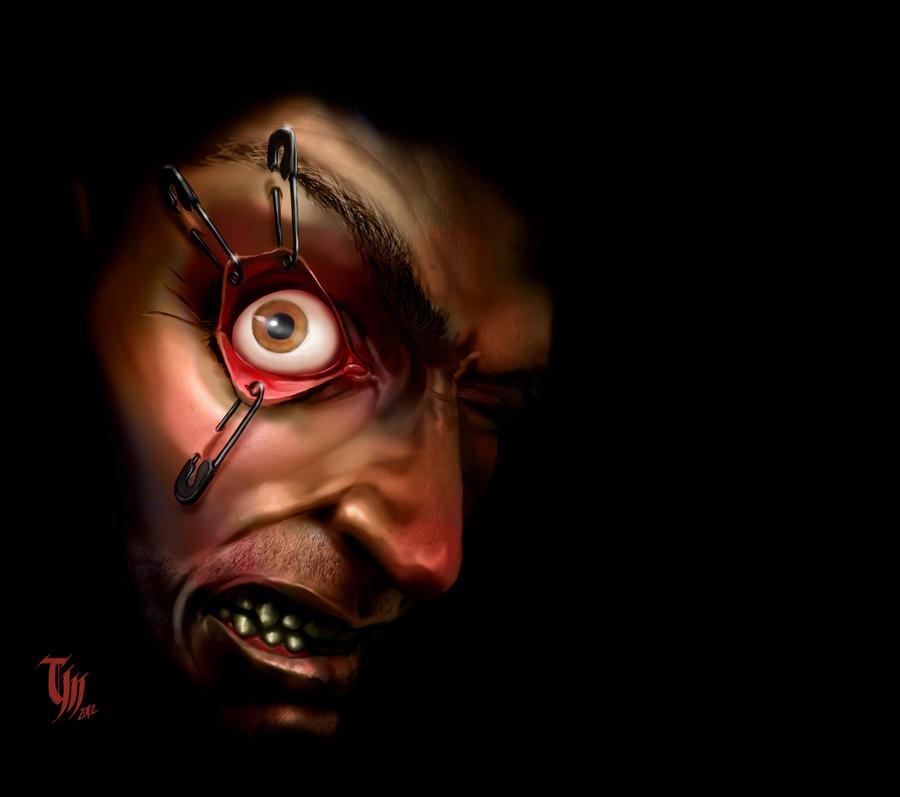 Pinned Eye by Mattasama