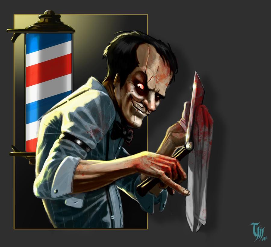 Barber Pics : Bad Barber by Mattasama on DeviantArt