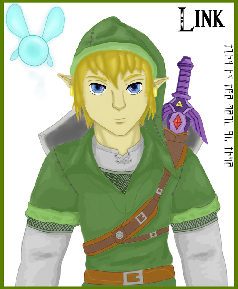 Link with color (Revamped) by SwordOfLegends