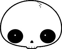 ::Halloween Skull:: by NetsukeLemon