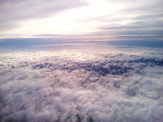 Scattered clouds from above by Oracions