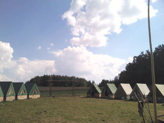 Clearsky over summer camp by Oracions