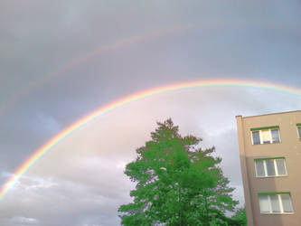 Double rainbow by Oracions