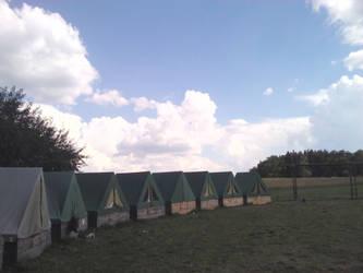 Skyhole over summer camp by Oracions