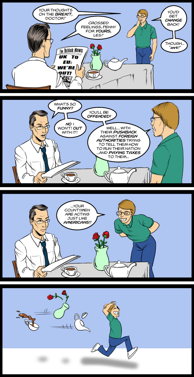 Les And Dr Green Teaparty 4 Koma By Davidcmatthews by JimmyDimples