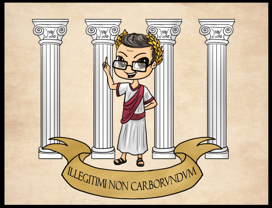 Dr. Green: Roman Philosopher -- By Captain Savvy by JimmyDimples