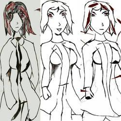 The Three Emotions of Mitsuki Akira by STOTTINMAD