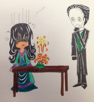 Experiments go wrong sometimes...