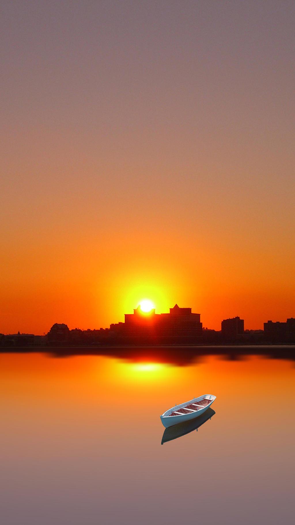 HD Sunset Wallpaper IPhone 6 By Mattiebonez