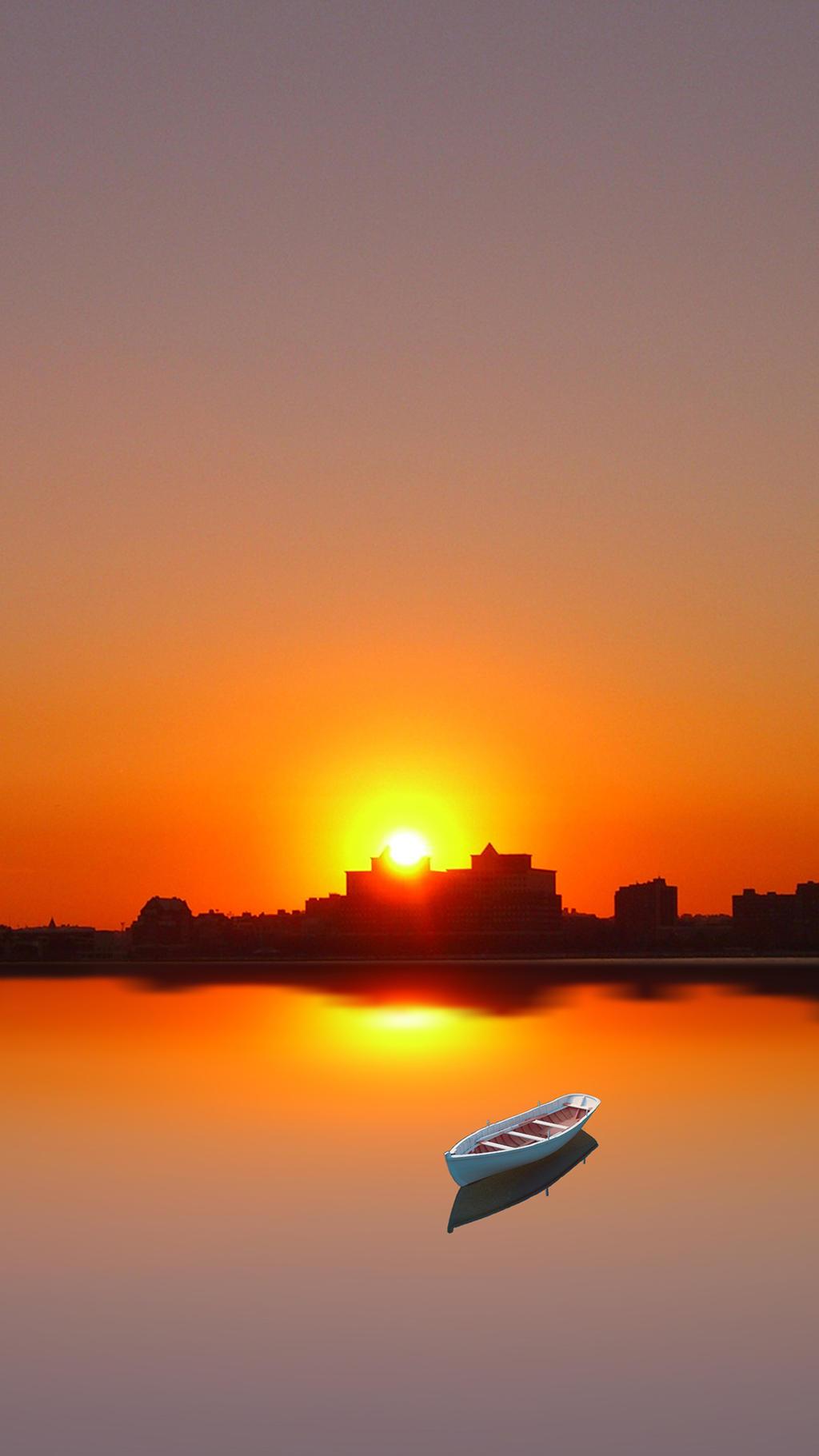 Hd Sunset Wallpaper Iphone 6 By Mattiebonez On Deviantart