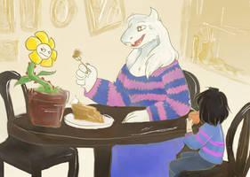 Afternoon Tea by vilovine