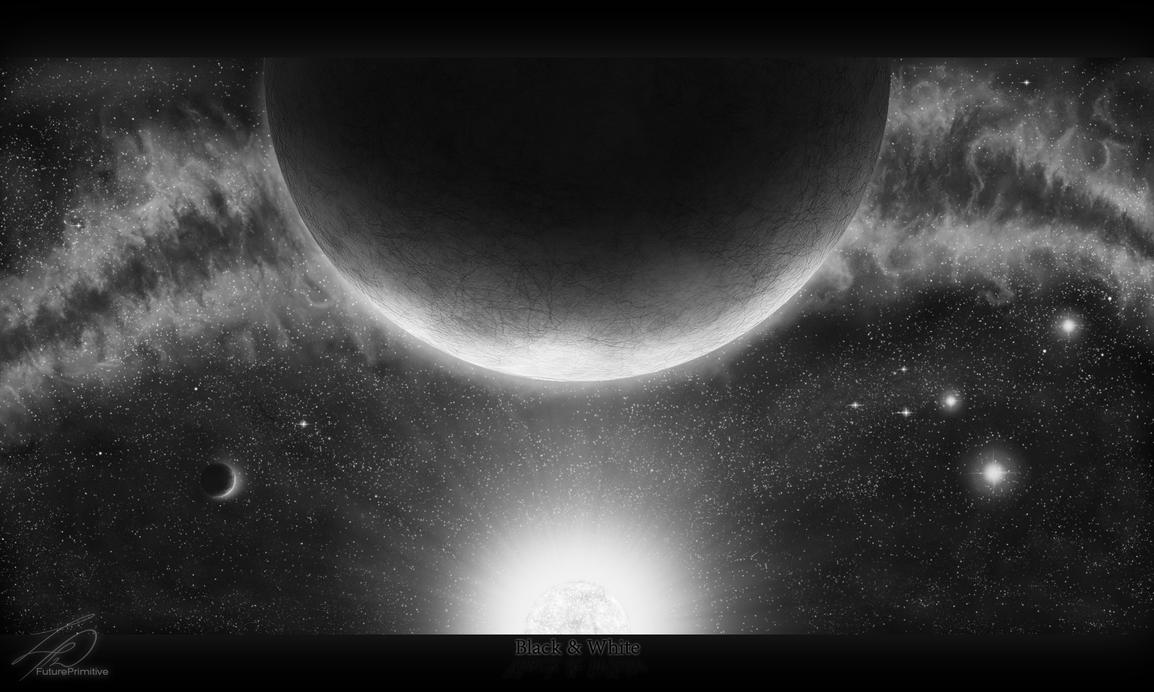 Black and White by FuturePrimitive-Hk
