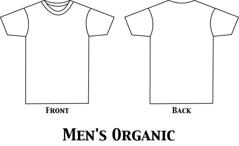 Men's T-Shirt to Work: 4 Nominations of Templates to Work