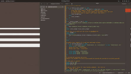 Gedit theme by chicoray