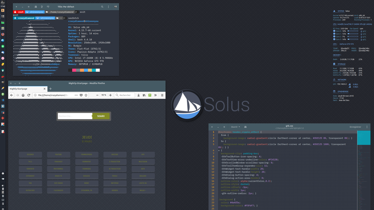 Unfinshed Solus setup by chicoray