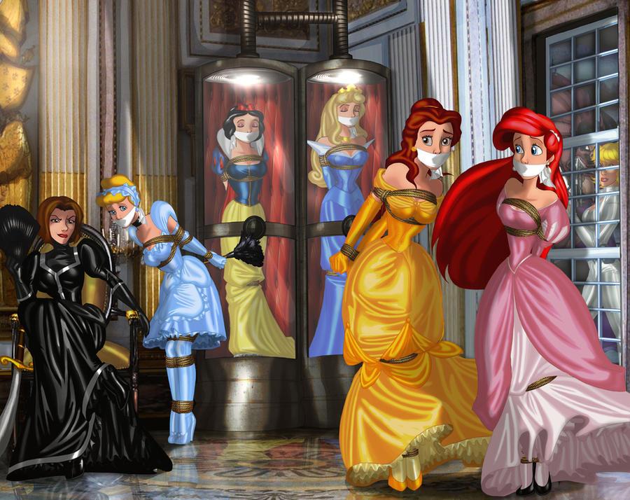 Фото связанных принцесс
