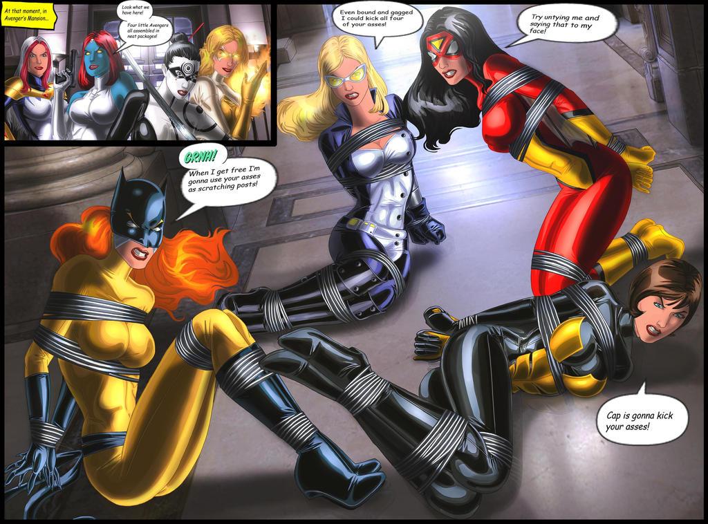 image Batgirl vs harley quinn amp catwoman