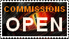 Commissions open dragon stamp by Volraknil