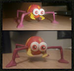 Quickie Clay Model - Scuttlebug