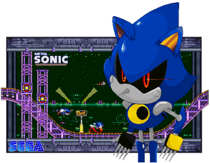 Race for your life, Metal Sonic