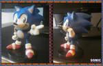 Sonic The ClayHog (Rough Model) by FierceTheBandit