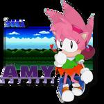 Maiden Of The Little Planet - Amy Rose by FierceTheBandit