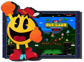 Family Man And Hero Of Fairies - Pac-Man by FierceTheBandit