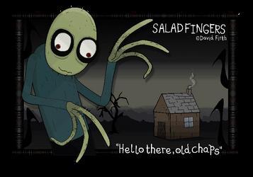 Inquirer of Rusty Spoons - Salad Fingers by FierceTheBandit
