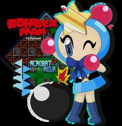 Acrobat Aqua - Bomberman Land Touch! 2 by FierceTheBandit
