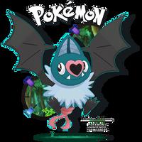 The Flying Psychic Pokemon - Swoobat