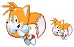 Miles 'Tails' Prower - Pixel Quickie by FierceTheBandit