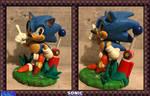 Sonic The ClayHog (2020 Second Attempt) by FierceTheBandit