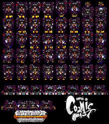 Super Cosmic Heist - New Sleek The Android Sprites