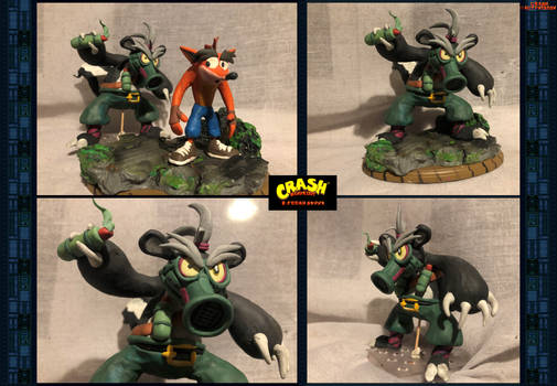 Crash Bandicoot - B.Fresh Skunk (2nd Clay Model)