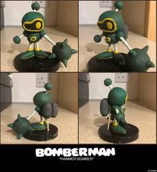 Bomberman - Hammer Bomber (Rough Clay Model)
