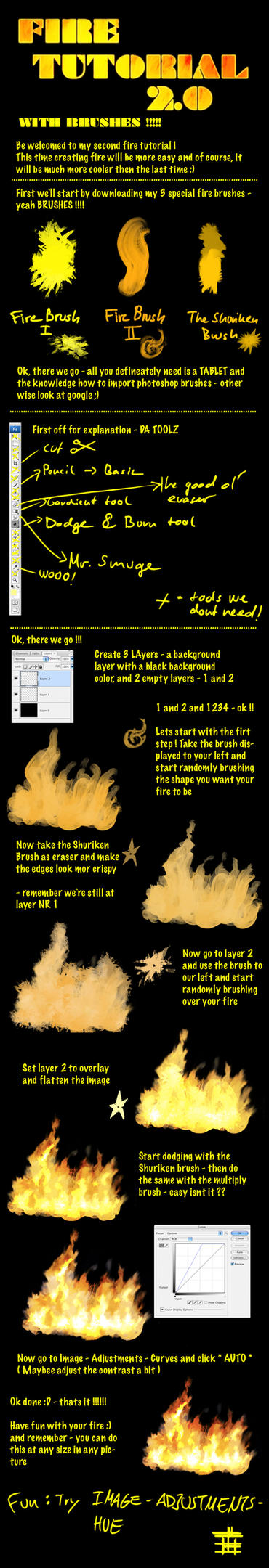 Fire Tutorial 2.0 by Hawk4