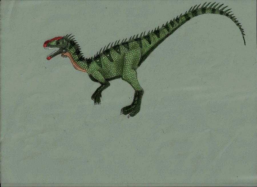 Guaibasaurus colored by Austroraptor