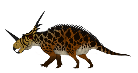 Dinosaur concepts: Spiked Reptile from Alberta